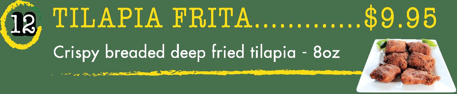 12 Tilapia Frita - Taste of Brazil