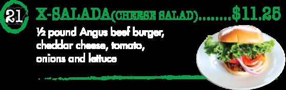 21 X-Salada - Taste of Brazil