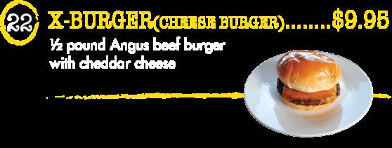 22 X-Burger - Taste of Brazil