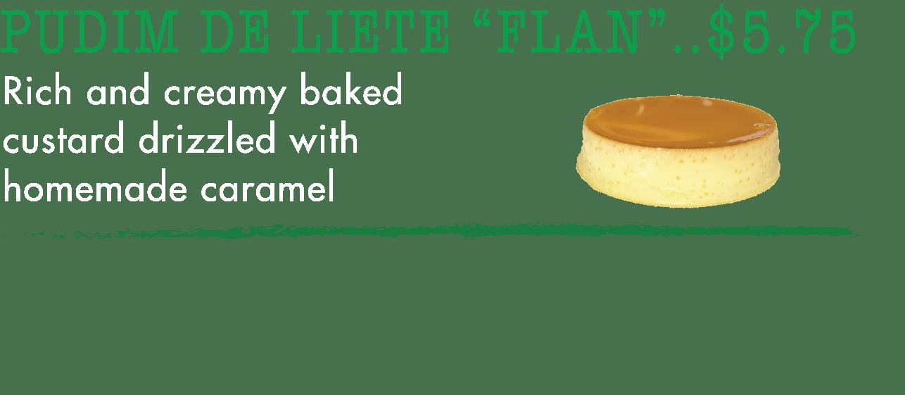 Flan - Taste of Brazil