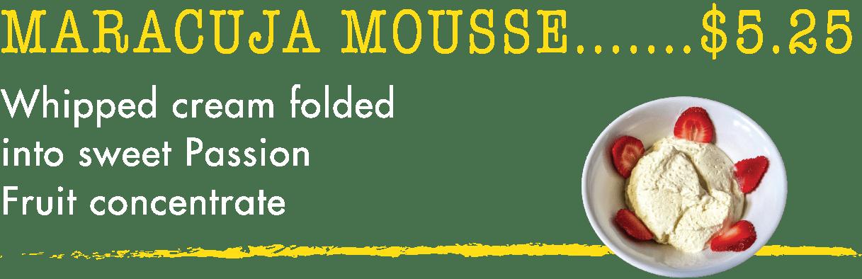 Maracuja Mousse - Taste of Brazil