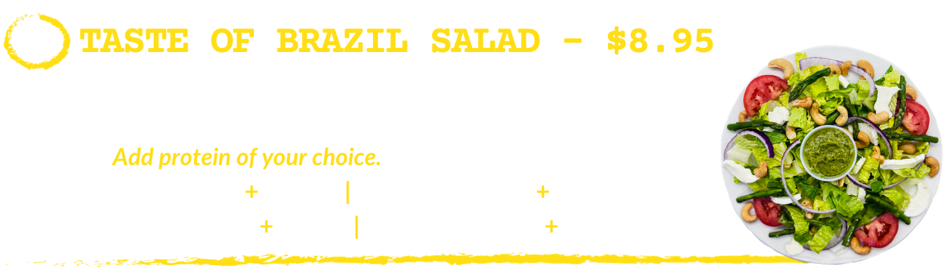 Taste of Brazil Salad
