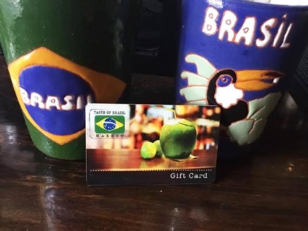 Taste of Brazil Gift Cards